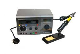 Многофункциональная цифровая паяльная станция с мультиметром и ЖК дисплеем 220V/48W (ZD-8901) REXANT