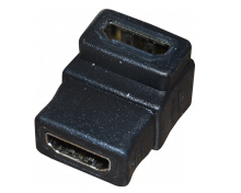 ПЕРЕХОДНИК гн.HDMI - гн.HDMI угловой GOLD REXANT