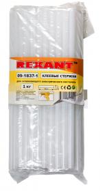 Клеевой стержень, d=11.3, L=270 мм Прозрачный (Матовый), t-83°C, вязкость 18.000Pa.s, 1кг REXANT