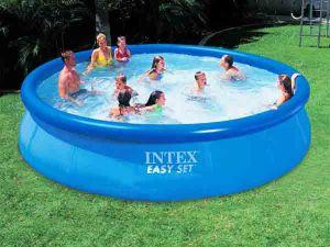 Надувной бассейн Intex (457 см х 91 см.)