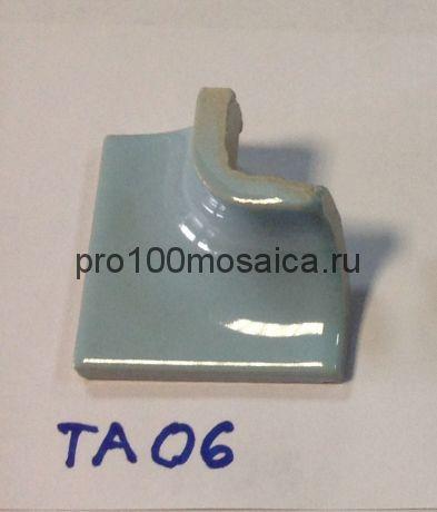 T06. Декоративный элемент для ступеней и бордюра. Мозаика серия PORCELAIN