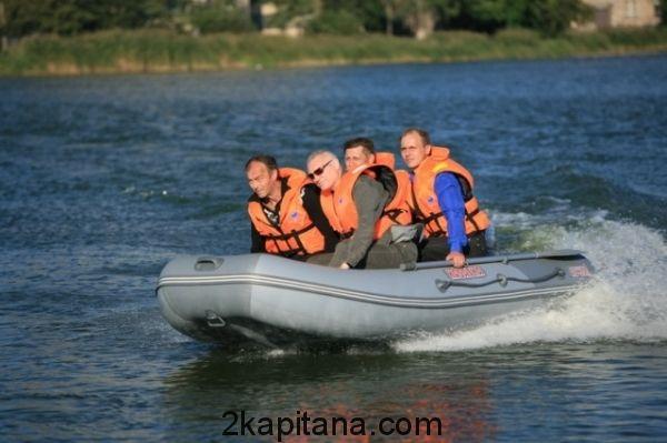 Лодка ПВХ Касатка KS-385 Sport
