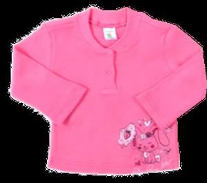 Розовый джемпер для девочки