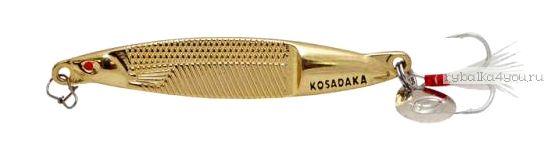 Блесна Kosadaka Fast Jig 65мм / 10 грамм / Gold