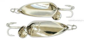 Блесна Kosadaka Grav Spoon 45мм /  12 грамм /  Silver