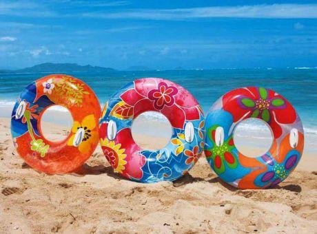 Пляжный надувной круг (диаметр 97 см.)