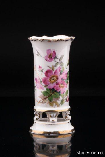 Изображение Декоративная ваза на постаменте, Meissen, Германия, кон. 19 в