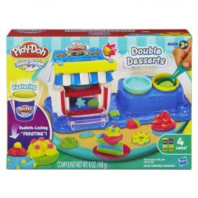Набор игровой Двойные десерты, PLAY-DOH