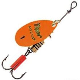 Купить Блесна Mepps Aglia Fluo цвет Orange / №1 3.5гр