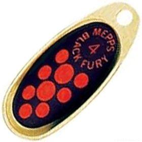 Блесна Mepps Comet Black Fury цвет OR/OR / №1 3.5гр  - купить со скидкой