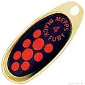Купить Блесна Mepps Comet Black Fury цвет OR/OR / №3 6.5гр