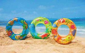 """Пляжный надувной круг """"Морские жители"""""""