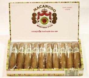 Macanudo Cafе Diplomat*10