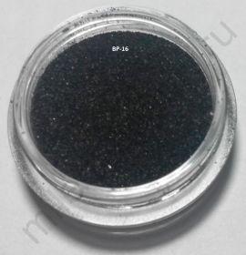 Бархатный песок, BP-16, чёрный