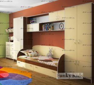Детская стенка Фанки Кидз-17.2 СВ