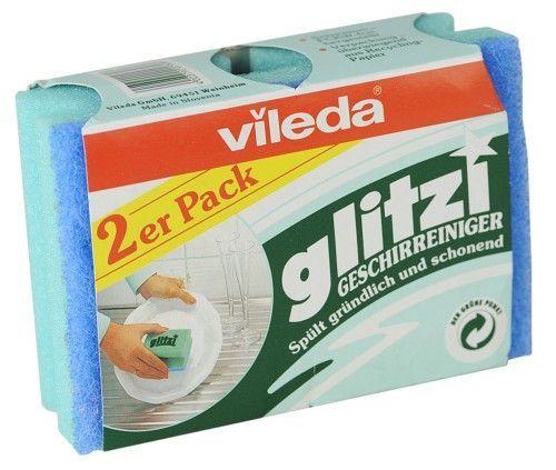 """Vileda Губка """"Glitzi"""" для посуды, 2 шт."""""""