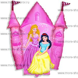 Шар Замок принцессы 84 см