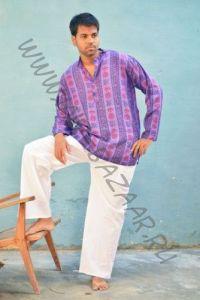 Мужские прямые штаны для йоги из хлопка (разные цвета)