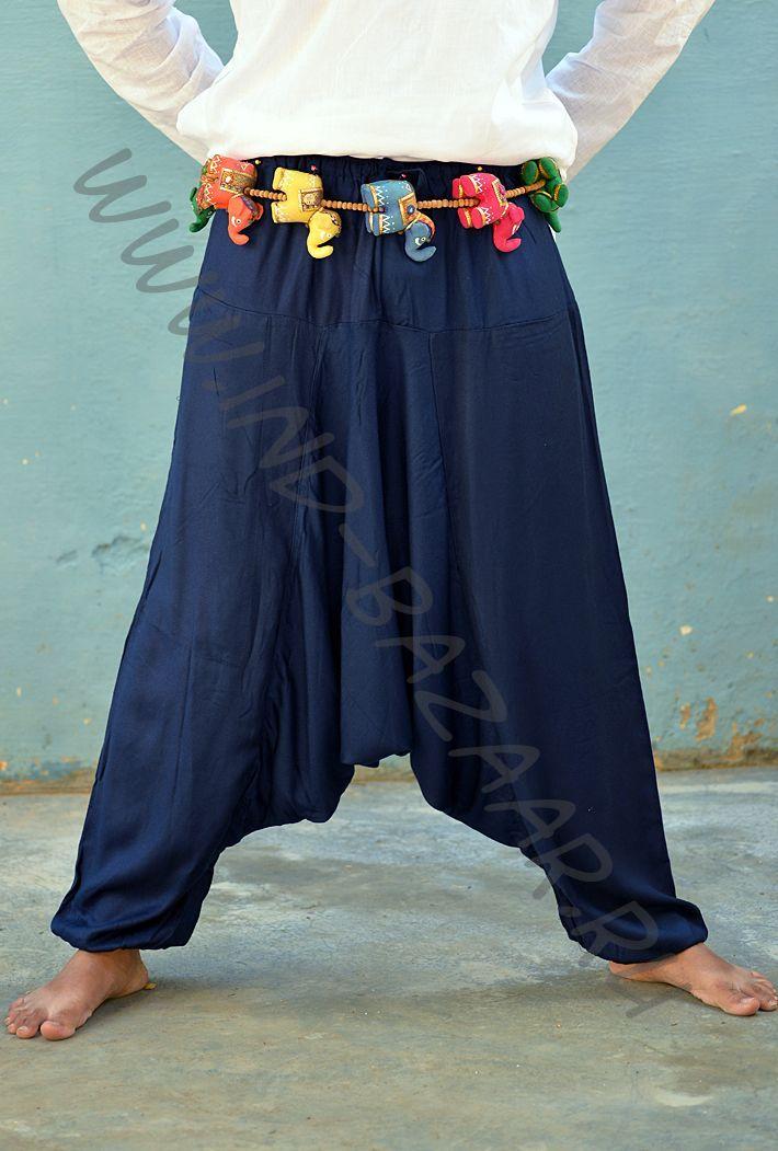 Выкройка штаны непальские афгани унисекс