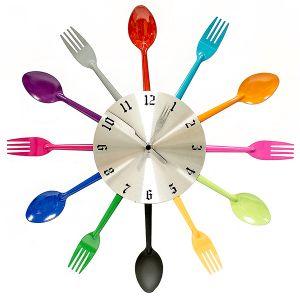Часы Ложки и вилки