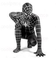 КОСТЮМ СПАЙДЕРМЕНА ЧЁРНЫЙ (SPIDER-MAN)