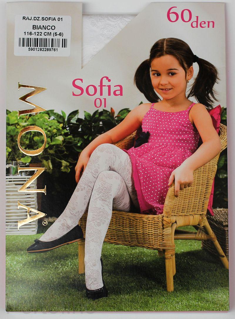 Sofia 01 детские колготки Mona