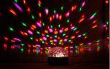 Светодиодный светящийся шар с пультом дистанционного управления для дискотеки