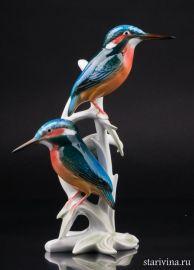 Два зимородка, Karl Ens, Германия