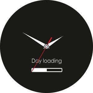 """Часы """"loading"""""""