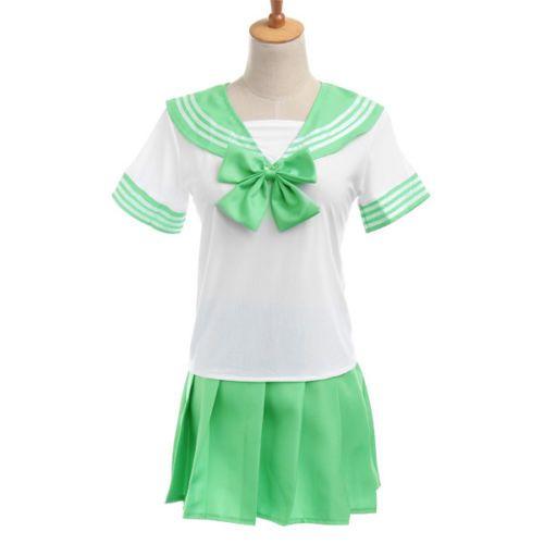 """Японская школьная форма """"Sailor Fuku"""" зелёная"""