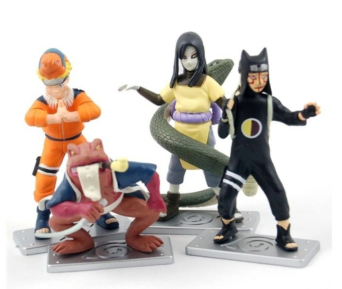 """Набор фигурок по аниме """"Naruto"""""""