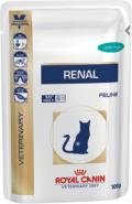 Royal Canin RENAL (тунец) - Диета для кошек при почечной недостаточности (85 г)