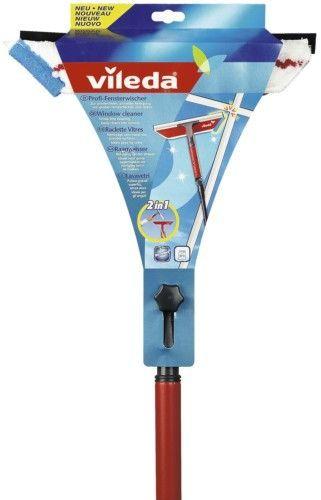 Vileda Очиститель окон 2 в 1, с телескопической ручкой