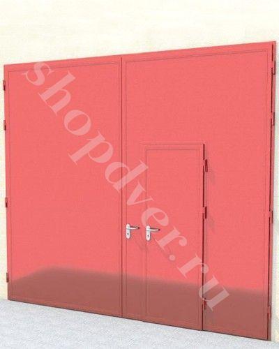 Ворота противопожарные распашные металлические ВПР (EI 60)