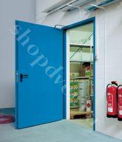 Металлические противопожарные двери с пределом огнестойкости (EI- 60