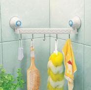 Угловая вешалка для ванной комнаты