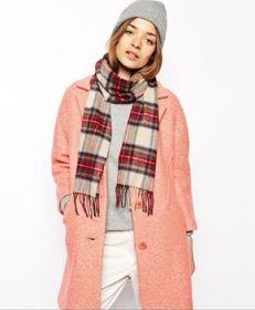 шарф 100% шерсть , расцветка королевский клан Стюартов (парадный вариант)