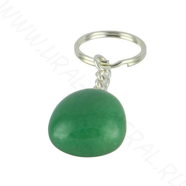 Брелок - Кварц зелёный