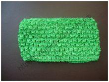 повязка сетка 7см зелёная