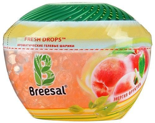 "BREESAL Гелевые шарики ""Энергия фруктов"" Fresh Drops, 215г"