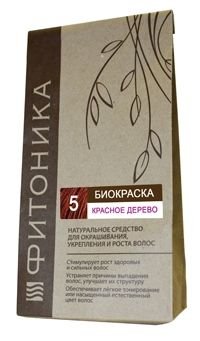 Биокраска Фитоника №5 «Красное дерево», 30 гр.