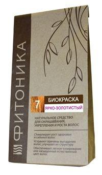 Биокраска Фитоника №7 «Ярко-Золотистый», 30 гр.