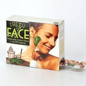 Скраб Fresh face, для нормальной и жирной кожи, 18 гр., 6 шт