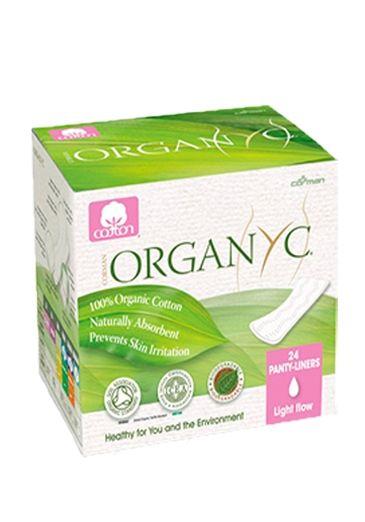 Organyc Прокладки на каждый день в индивид.упаковке, 24 шт.