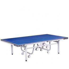 Теннисный стол профессиональный SAN-EI ABSOLUTE-W-CENTEROLD, ITTF(синий) ST-DT30C
