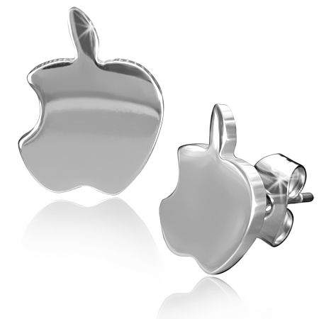 Серьги Apple