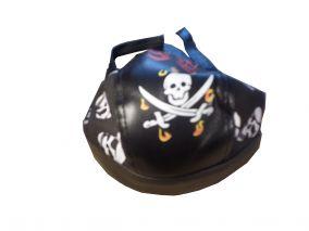 Пиратская кожаная бандана  VIP