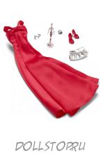 Аутфит для куклы Барби Лук Красная ковровая дорожка - On The Red Carpet Barbie Fashion