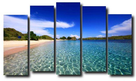 Модульная картина Море. Пляж