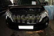 Решетка радиатора (Вставки) Тип 1  для Toyota Land Cruiser Prado 150 2013-